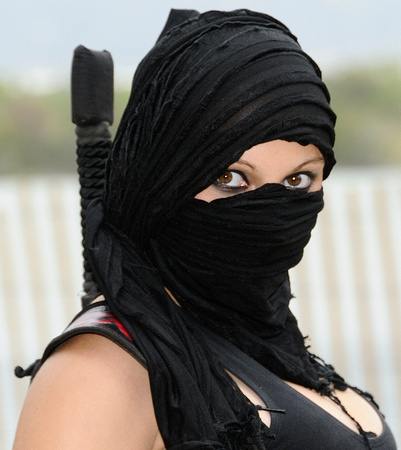 Clarence Alford Photography Favorites Female Ninja